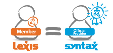 Become an official SYNTAX provider through LEXIS